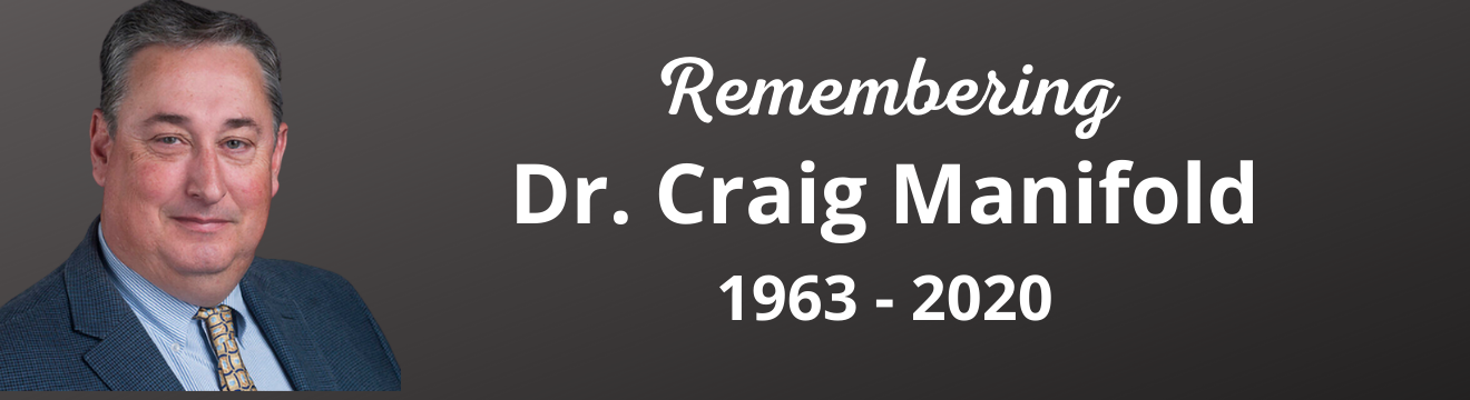 National Registry Board Announces Scholar Position in Honor of Dr. Craig Manifold
